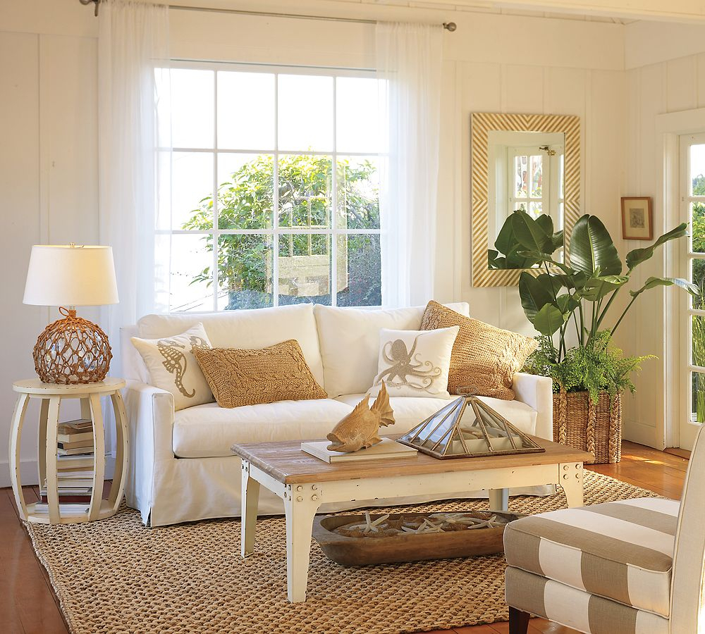 Pottery Barn Style Living Room A Creative Mom