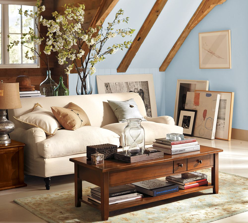 Pottery Barn Style Living Room Pottery Barn Living Room A Pretty