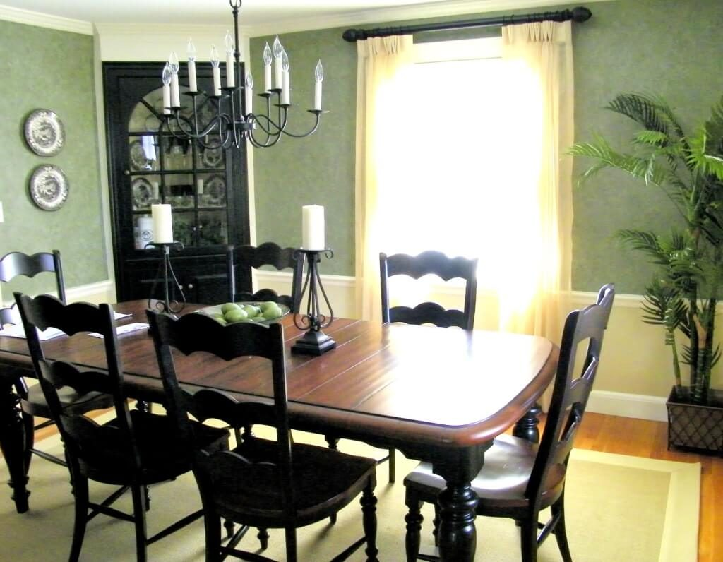 Pretty Green Dining Room Set Ideas Fu Chairs Chair For Cushions