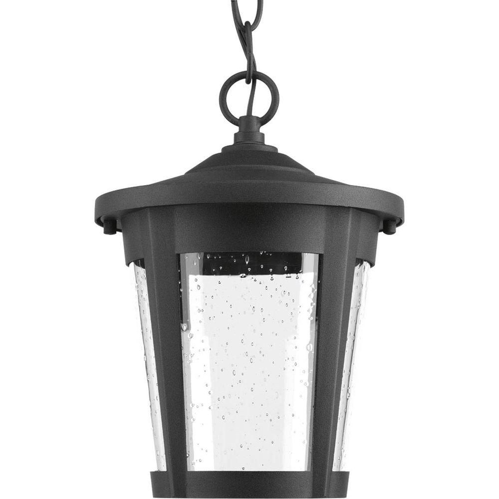 Progress Lighting East Haven Collection 1 Light Outdoor Black Led