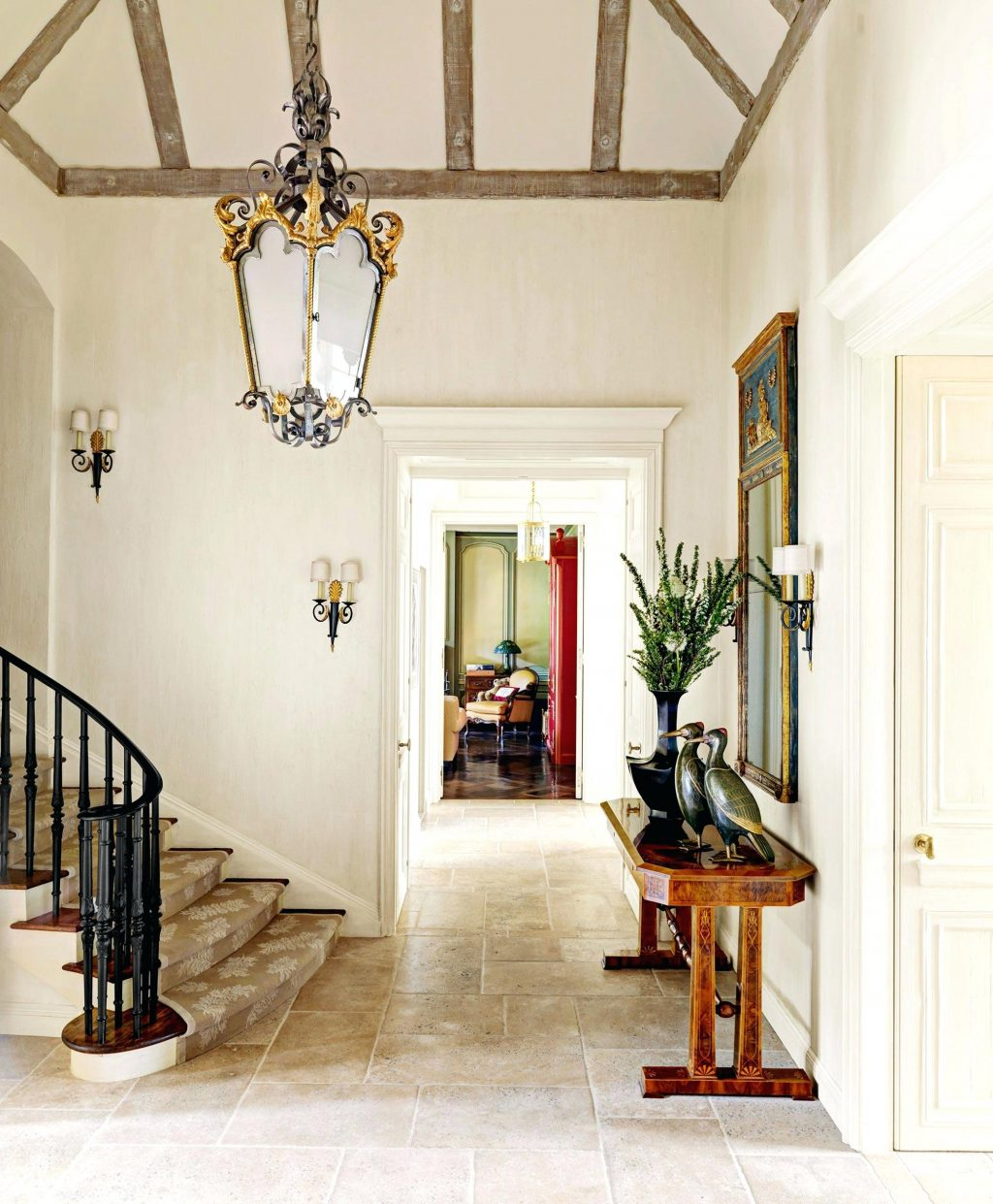 Provence Interiors French Country Style French Country Foyer Home