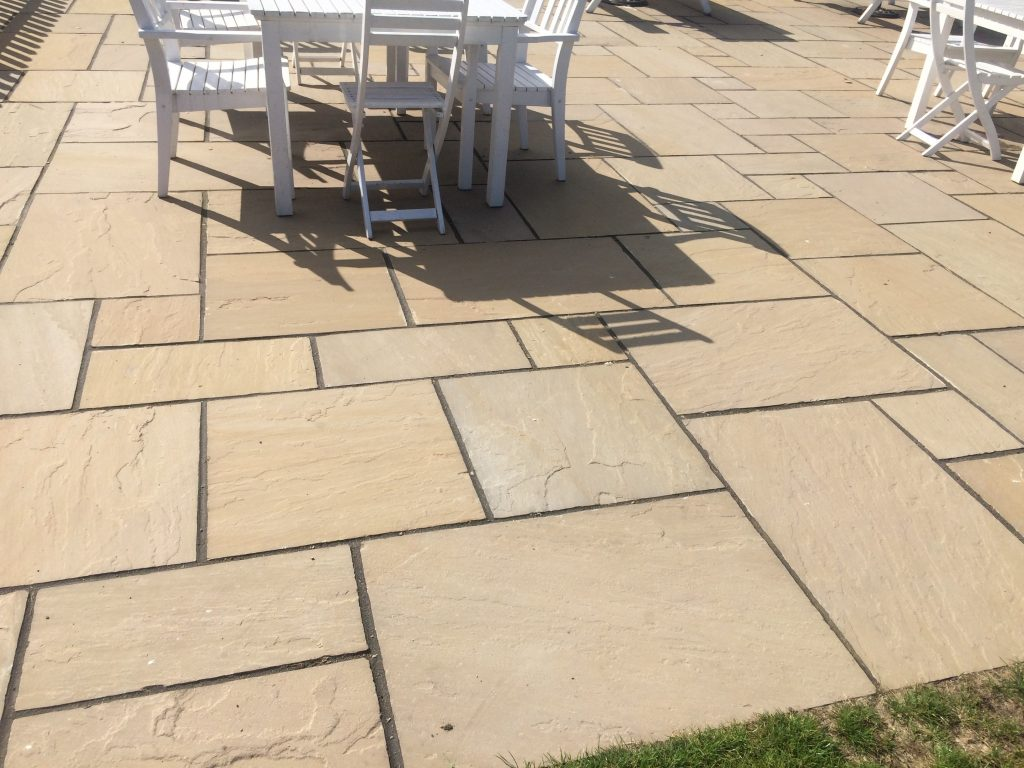 Raj Green Indian Sandstone Natural 1825mm Premium Patio Paving