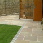 Green Natural Stone Patio