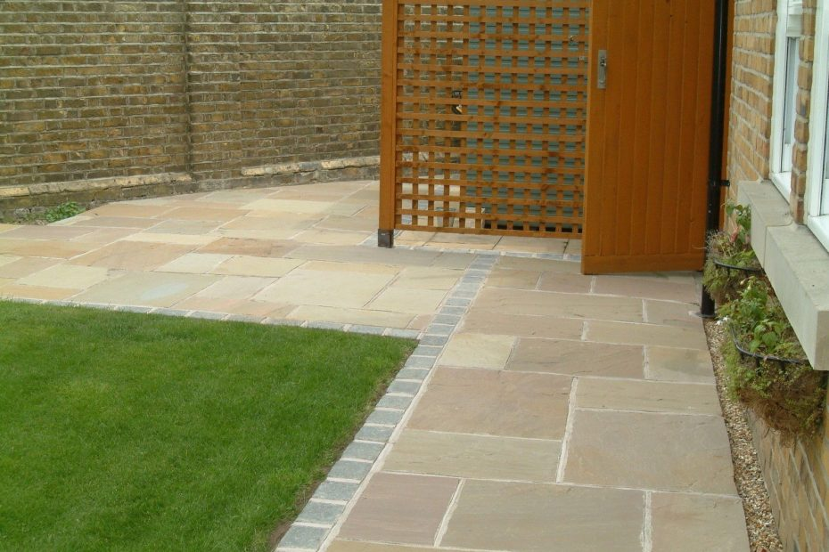 Raj Green Indian Sandstone Paving Natural Stone Patio Flags