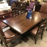 Ralph Lauren Dining Table 6 Chairs Furniture Consignments