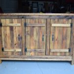 Reclaimed Wood Buffet Table