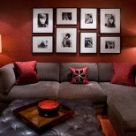 Red And Brown Living Room Living Room Ideas