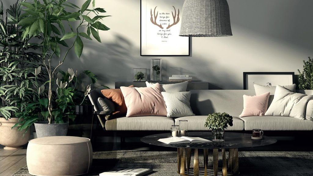 Render Of The Week Contemporary Bohemian Chic Nonagonstyle