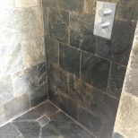 Renovating Slate Shower Cubicle Ruined Limescale In Oxfordshire