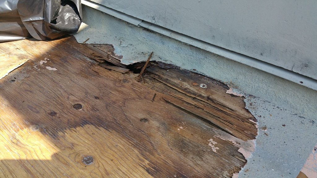 Repairing And Waterproofing A Residential Plywood Deck Wicr