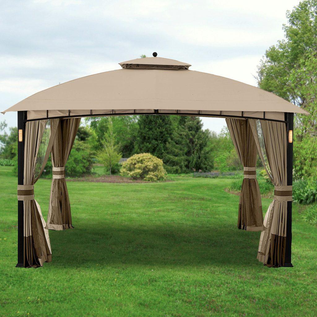Replacement Canopy And Netting For Morehead Gazebo Riplock Garden