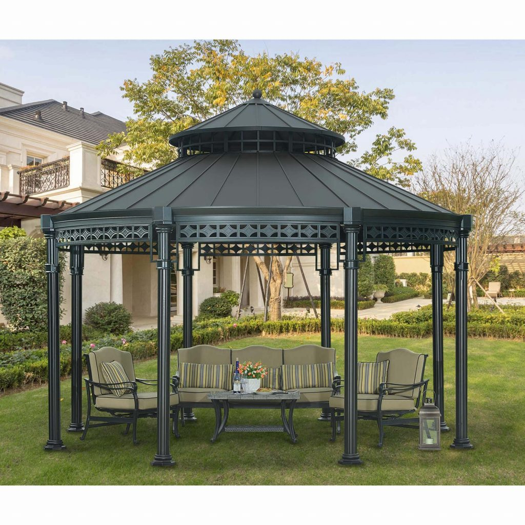 Round Gazebo Plan Codeambiance Decorations Round Gazebo