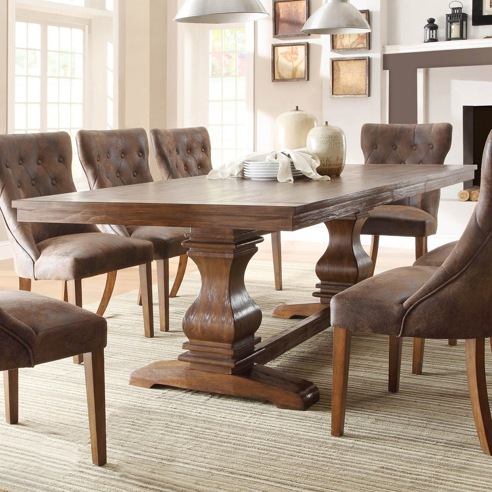 Rustic Dining Room Furniture 4 The Minimalist Nyc