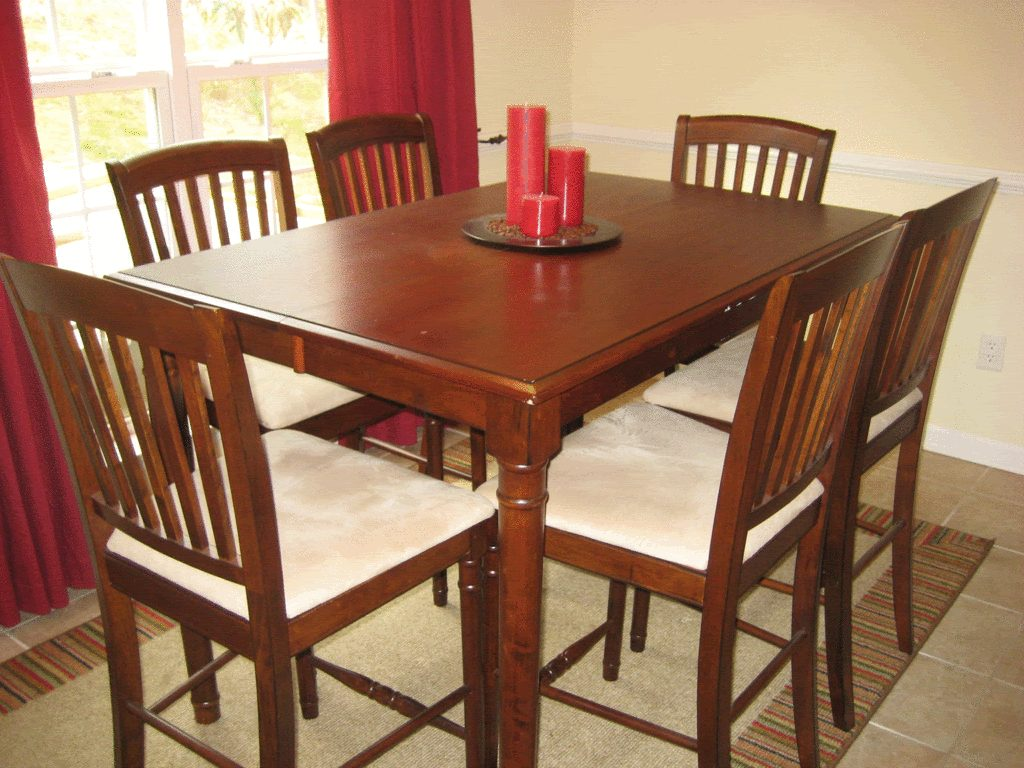 Rustic Eating Room Design With Cheap Kitchen Dinette Set On Walmart