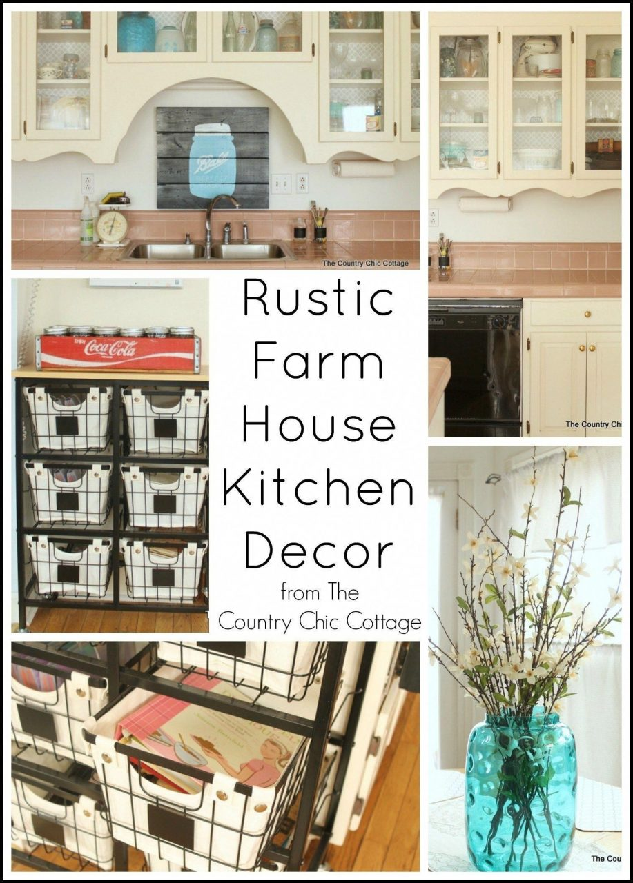 Rustic Farmhouse Decorating Ideas Fresh Kitchen Archives The Country