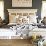 Rustic Farmhouse Master Bedroom Design Decor Ideas 26 Suite