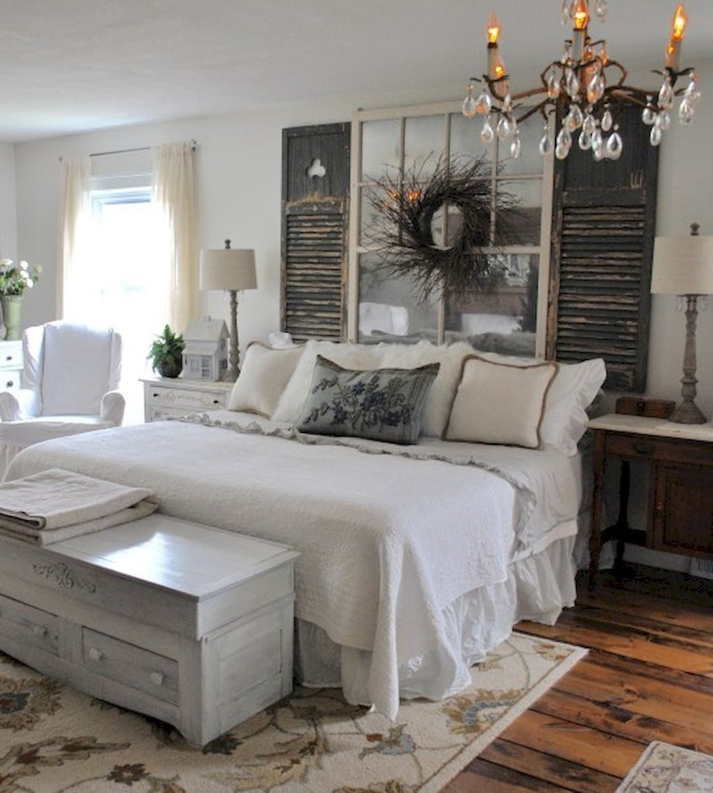 Rustic Farmhouse Style Master Bedroom Ideas 15 Our First Home