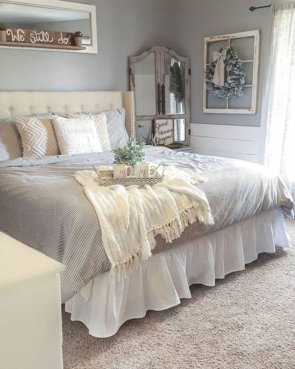Rustic Farmhouse Style Master Bedroom Ideas 20 Diyhomedecor