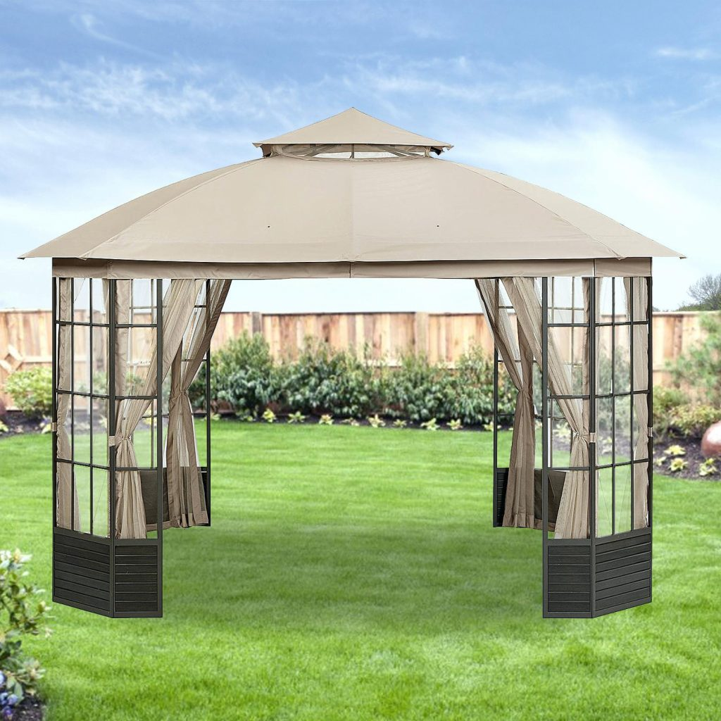Sears Gazebo Garden Oasis Parts Lighted Replacement Canopy Grand