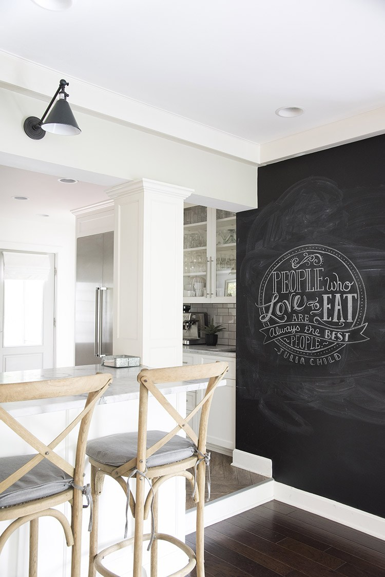 See Why Chalkboard Wall In Kitchen Is A Great Idea