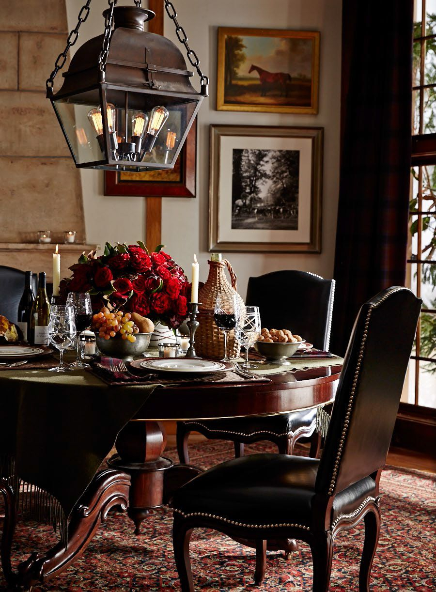 Setting The Scene For Fall Entertaining With Ralph Lauren Home