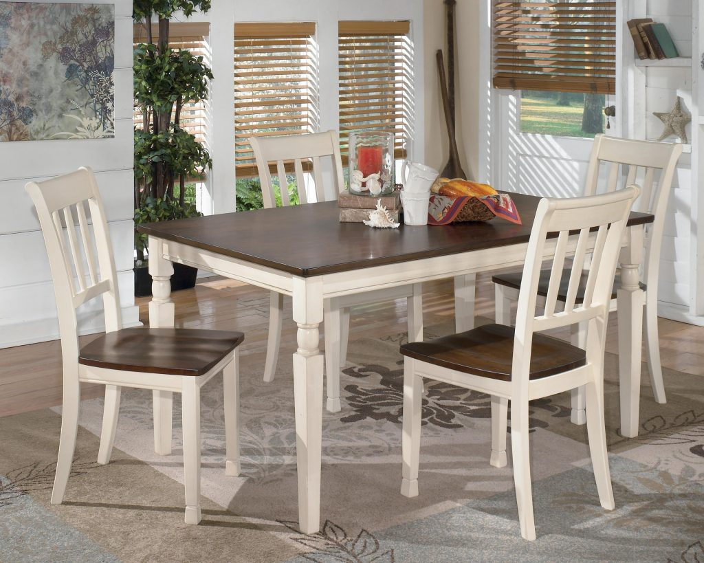 Signature Design Ashley Whitesburg 5 Piece Rectangular Dining