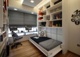 Small Bedroom with Murphy Bed