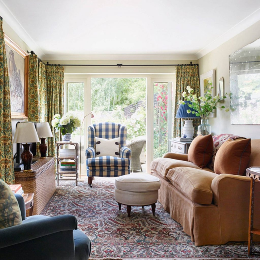 Small Cozy Cottage Country Living Room Design Ideas House Garden