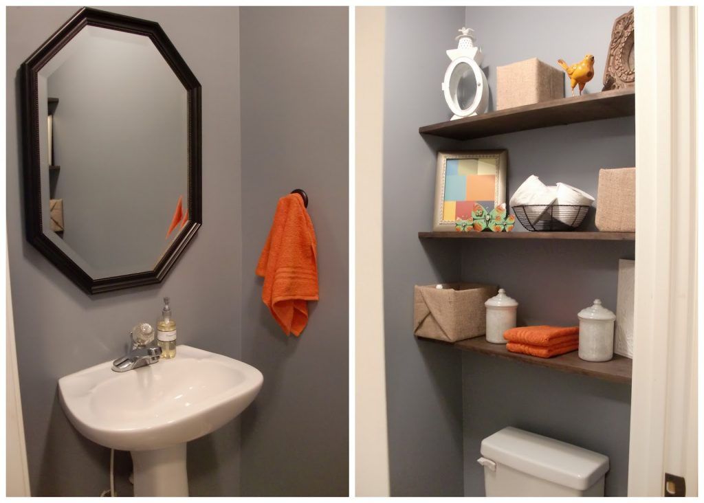 Small Half Bathroom Storage Ideas Bath Refresher Tierra Este 20226