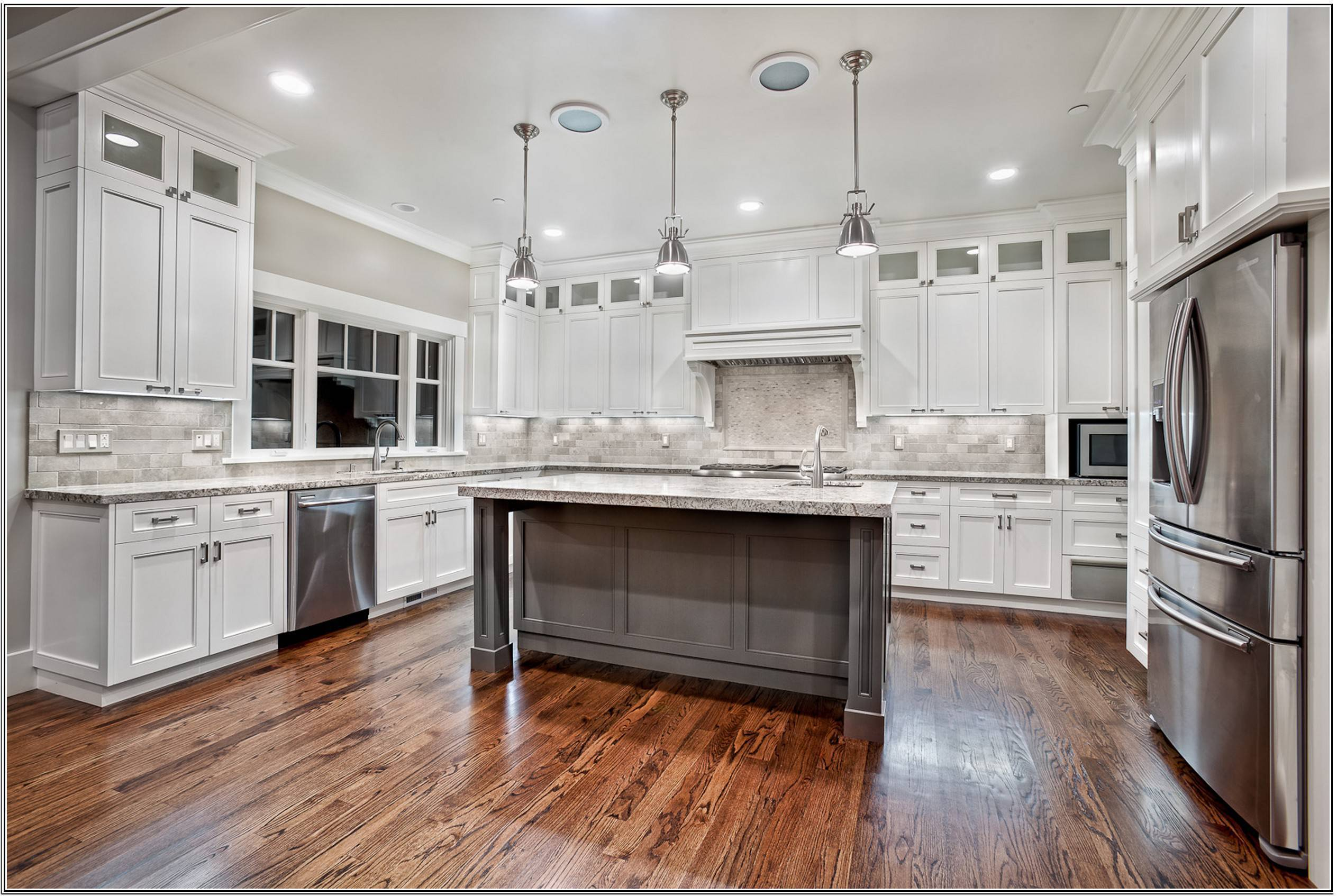 Small Kitchen Paint Colors With White Cabinets Gallery Also Lovely Layjao