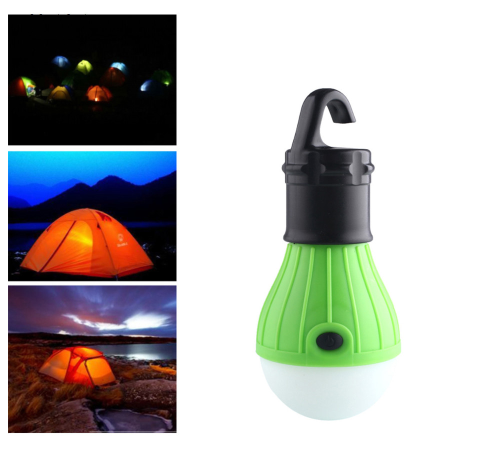 Soft Light Outdoor Hanging Led Camping Tent Light Bulb Night Fishing