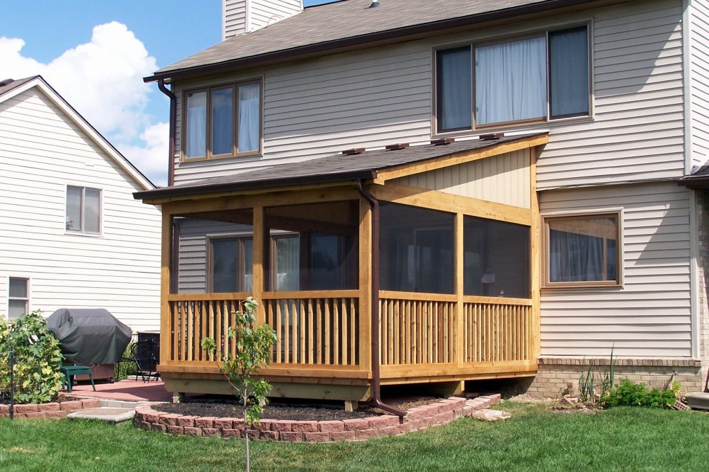 Southeastern Michigan Screened Porches Enclosures Sheds Photo