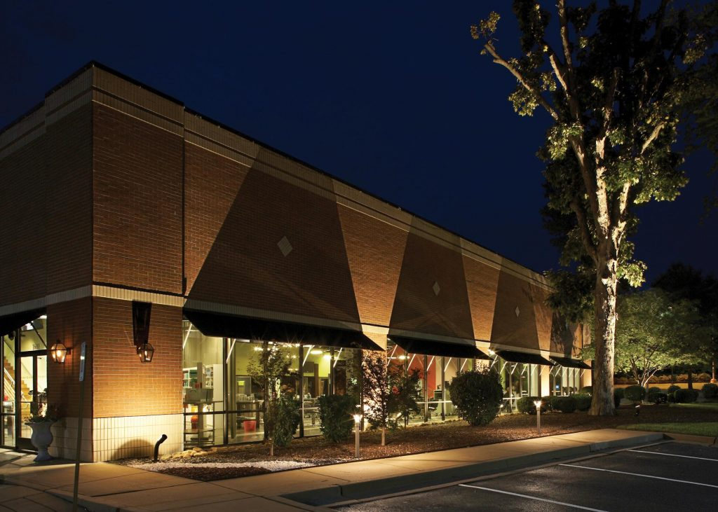 St Louis Commercial Storefront Lighting Outdoor Lighting And