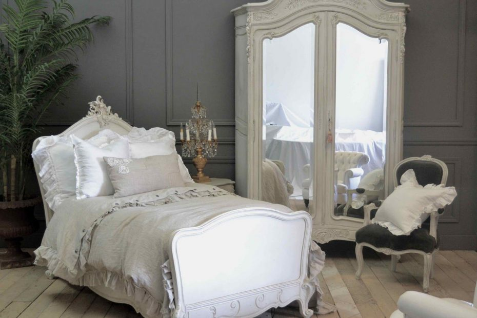 Staging Styling Amazing White Romantic French Bedroom Is That