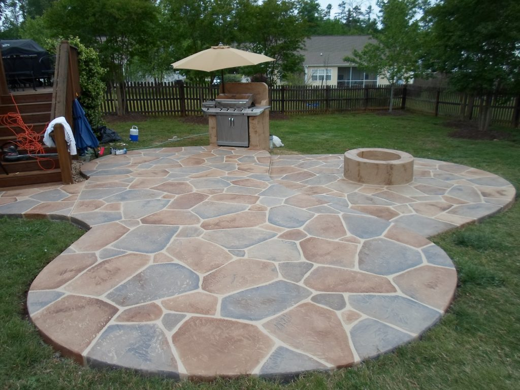 Stone Patio Design Diy In A Hour
