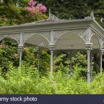 Victorian Wrought Iron Garden Gazebos
