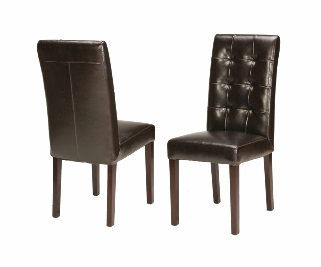 Teal Leather Dining Chairs In Posh Craft Associates For