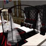 Terrific Gothic Bedroom Decor Ideas With Dark Nuance Home Design