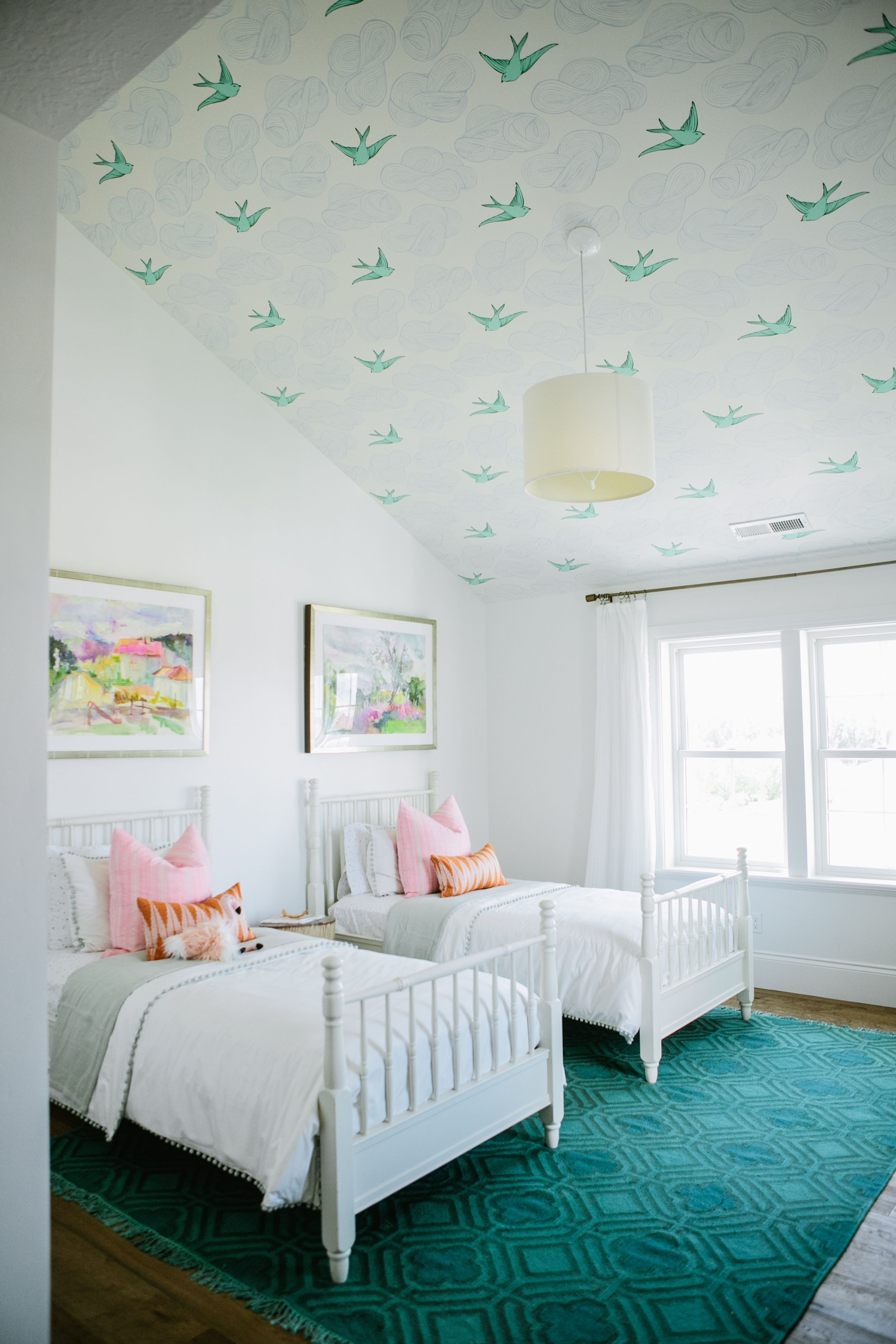 The Modern Farmhouse Project Girls Bedroom House Of Jade