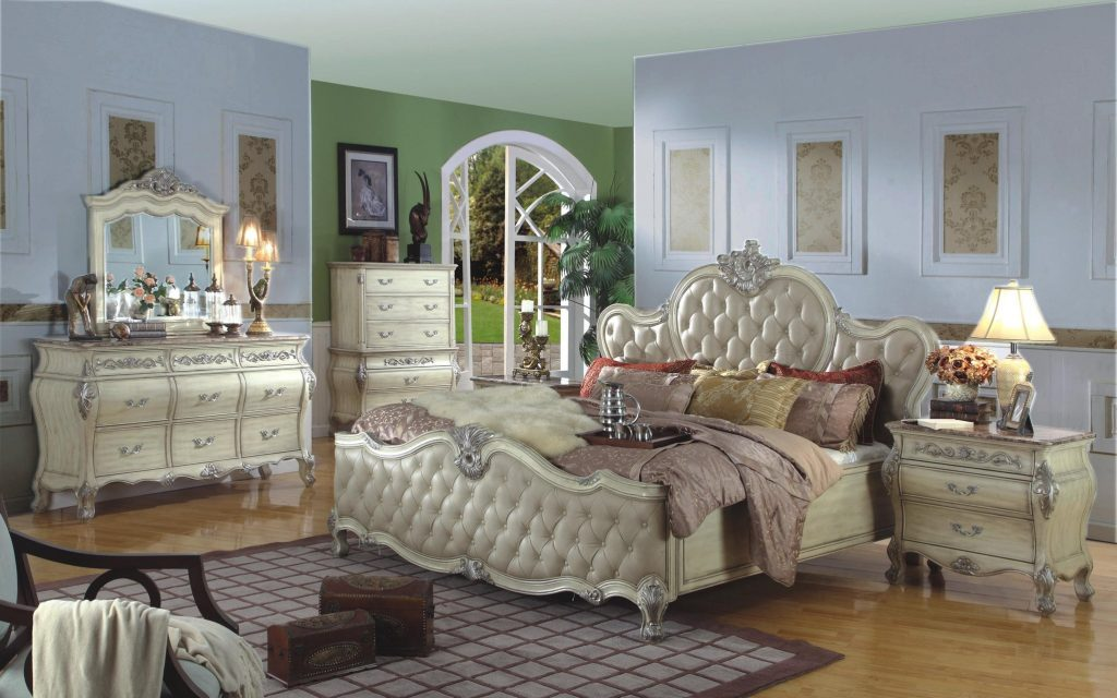 The Paris Antique White Bedroom Collection Bedroom Furniture
