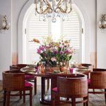 The Ralph Lauren Home Modern Sands Dining Table And Chairs Under The