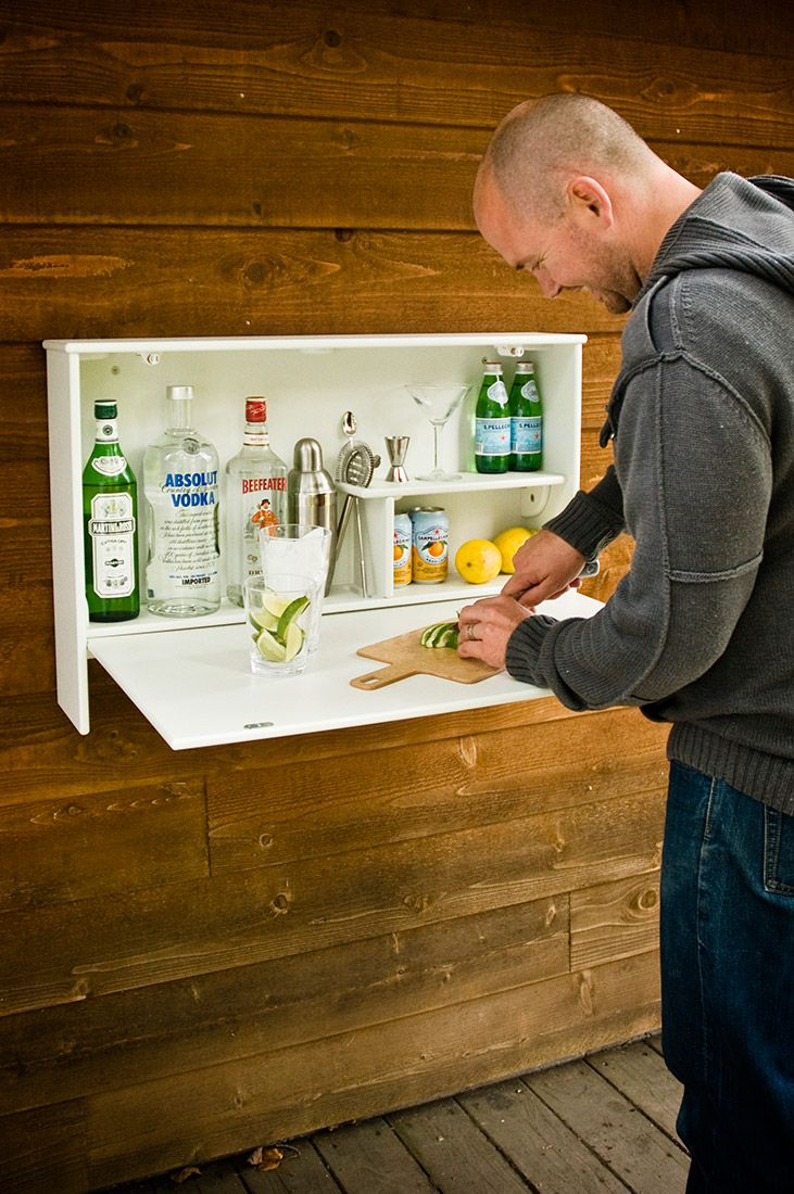 The Wallbanger Fold Down Bar Is A Necessity For The Modern Outdoor