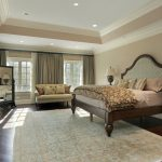 Master Bedroom with Area Rug