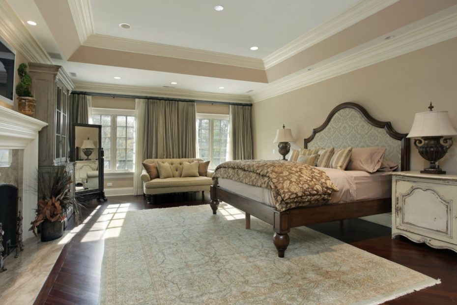Master Bedroom Area Rug Placement Layjao