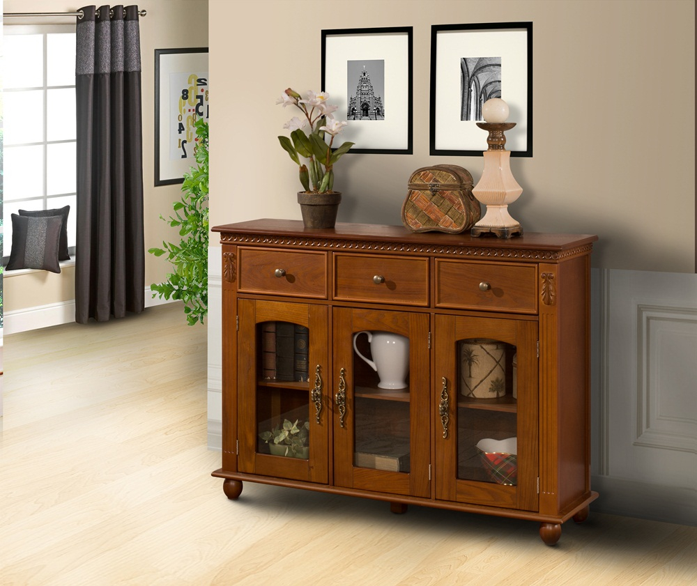 Top Glass Buffet Table Sideboard Stopqatarnow Design How To