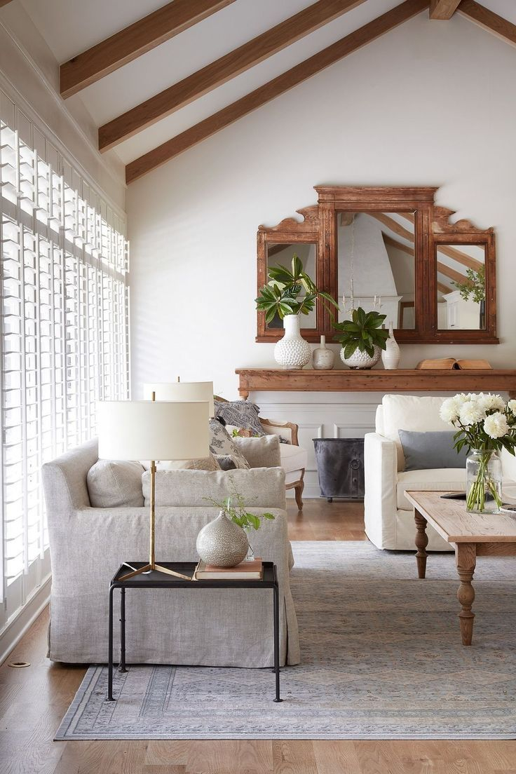Traditional Neutral Living Room Decor Interiors In 2019