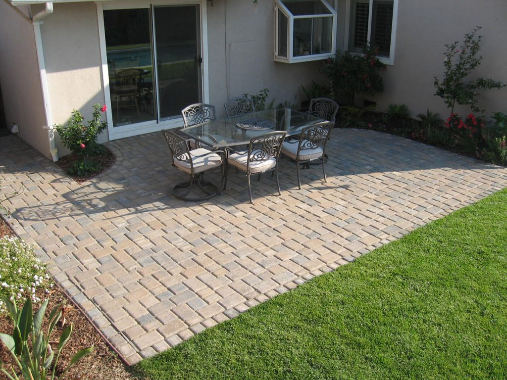 Traditional Paver Patio Ideas Meaningful Use Home Designs