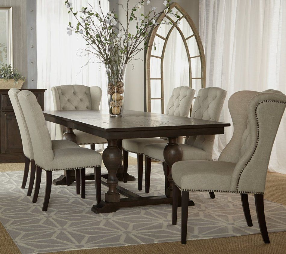 Tufted Dining Chair Grey Dining Room Pinterest Dining Room