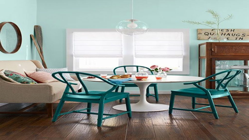 Turquoise Dining Chairs Teal Painted Dining Room Chairs