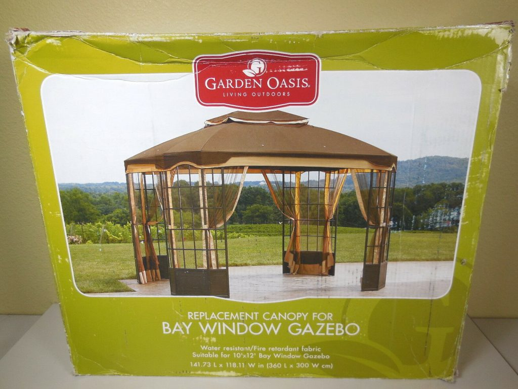 Upc 846822013190 Garden Oasis Replacement Canopy For Bay Window